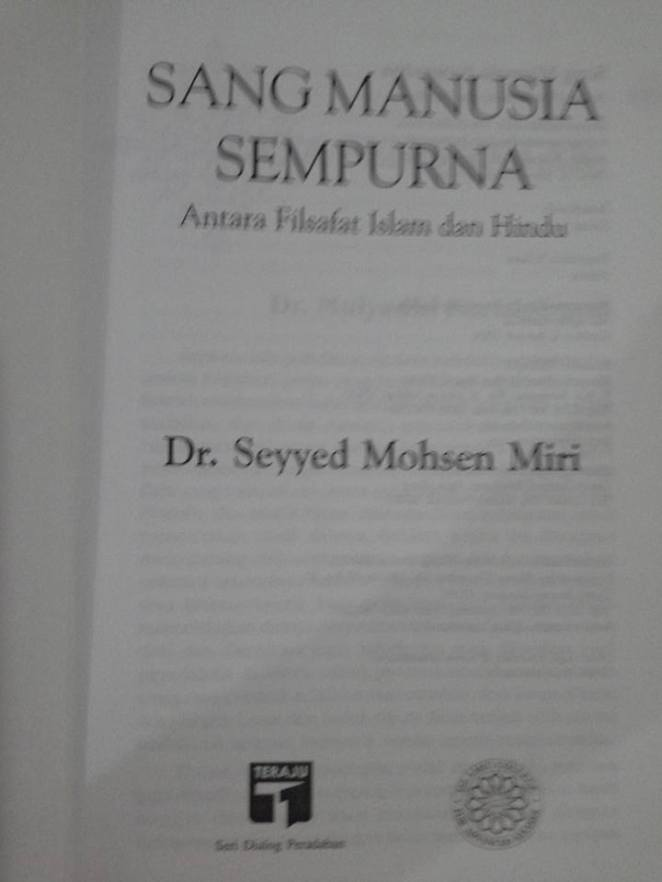 subcover buku Sang Manusia Sempurna
