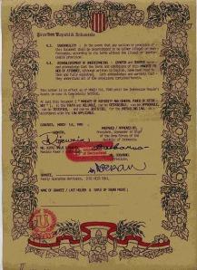 Surat Perjanjian Sukarno dan Kenedy 10