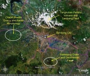 Peradaban Agama Sunda Wiwitan di Sekitar Lokasi Gunung (Supervolcano) Sunda Purba