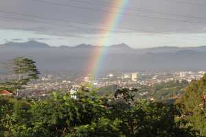 Palangi Pagi di Bandung Utara