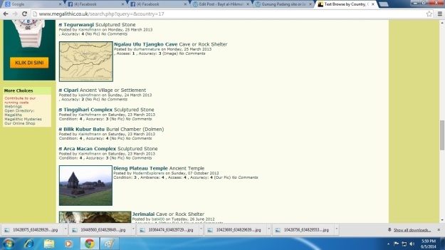 Megalitic site 3