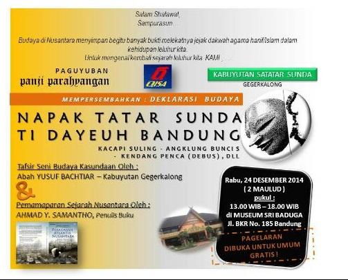 DEklarasi budaya Sunda