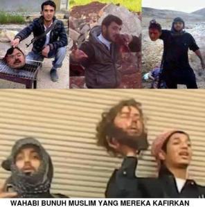 wahabi bunuh muslim yang mereka kafirkan