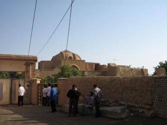 Rumah tempat Uzlahnya Mulla Sadra di Desa Kahak Kota Kasyan Iran
