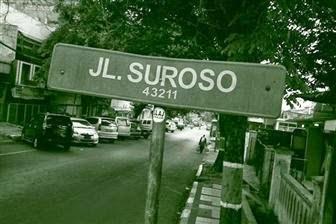 Soeroso, pahlawan Indonesia, yang ditembak penembak jitu Belanda dijadikan nama jalan di Cianjur.