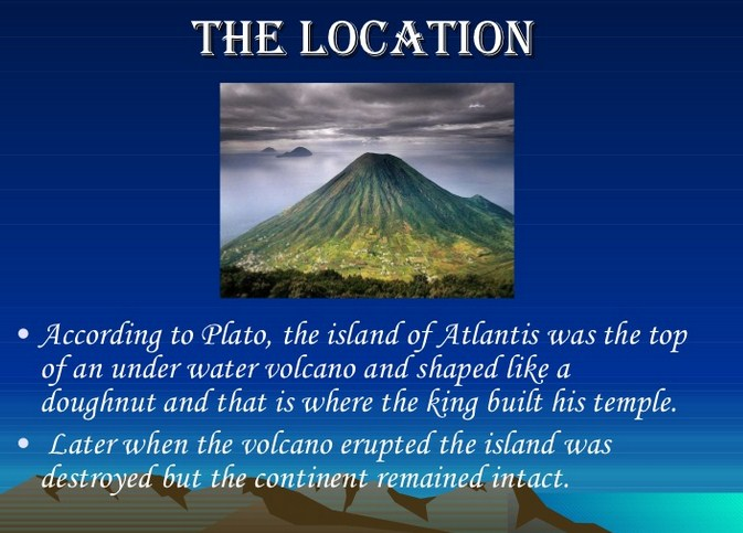 an analysis of the literature of atlantis the lost city