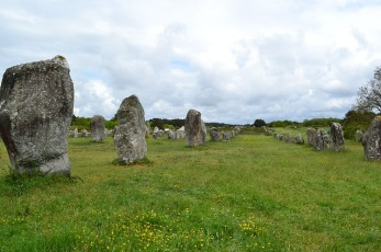 Megalithic Carnac Stones in France