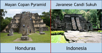 Mayan Temple, Indonesian Temple