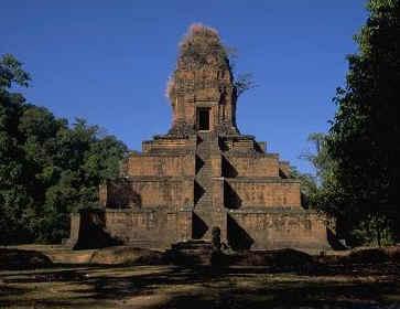 Ak Yom Pyramid in Cambodia
