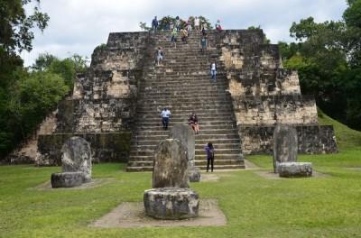 Copan Pyramid, Honduras
