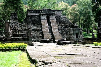 Candi Sukuh Pyramid, Indonesia