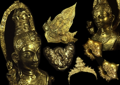 Ancient Gold artifacts from Java Indonesia